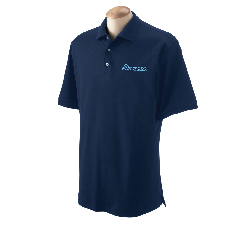 Men's Pima Cotton Interlock Polo
