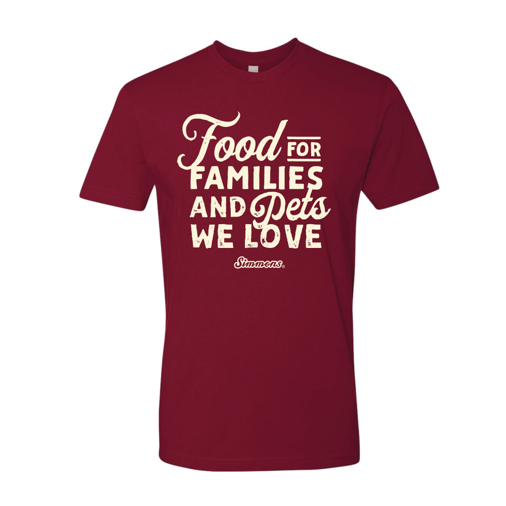 NEW - Food for Families Tee