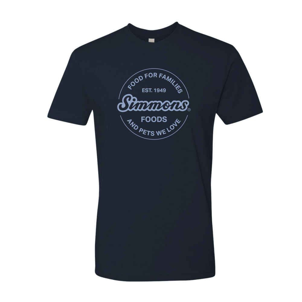 NEW - Navy Corporate Logo Tee